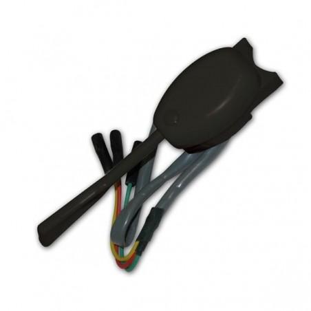 Comodo clignotant noir 12V