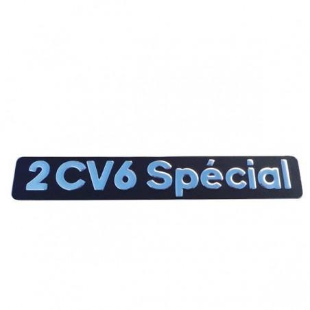 Monogramme 2CV6 SPÉCIAL