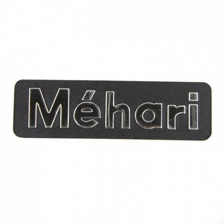 Monogramme MEHARI arrière