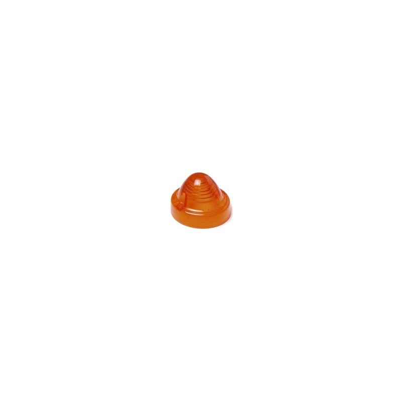 Cabochon orange