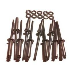 kit rivets assemblage montant lateral mehari