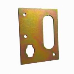 plaque support accelerateur mehari