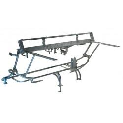 chassis tubulaire partie avant mehari galvanisé